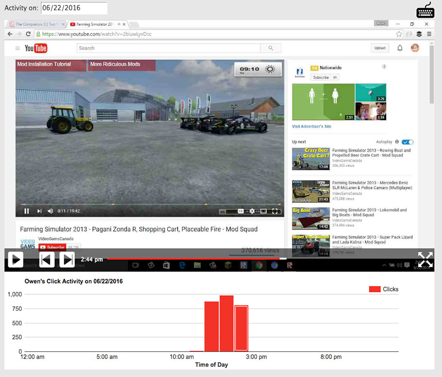 Spy on YouTube Videos with PC Tattletale